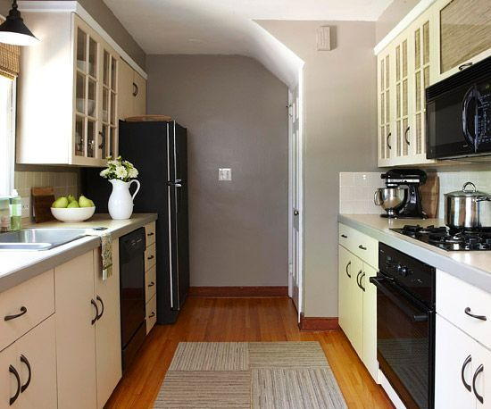Gorgeous Galley Kitchen Budget Remodel