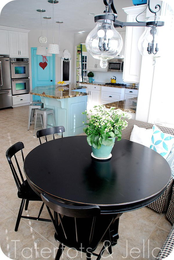 Color Pop Decor Kitchen Renovation Idea