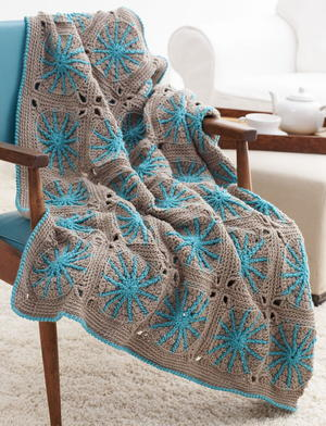 Sand Dollar Dream Afghan