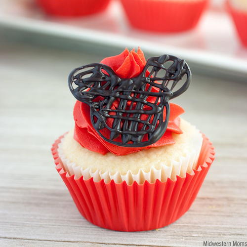 Easy Mickey Mouse Cupcakes