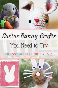 32 Easter Bunny Crafts You Need to Try