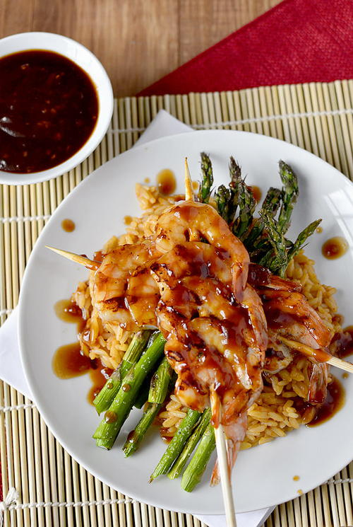 Asian-Glazed Copycat Bonefish Grill Shrimp