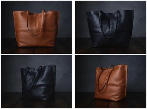 528d7af2a2 Leather Project Bag