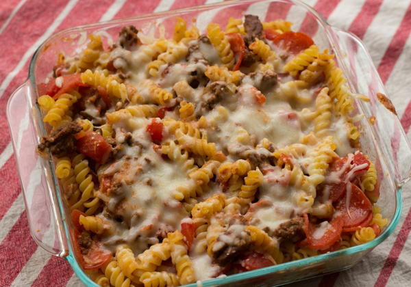 Easy Pizza Casserole Recipe