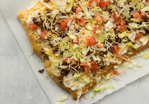 Easy Taco Pizza Recipe