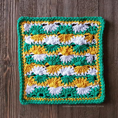 Catherine Wheel Crochet Stitch Instructions