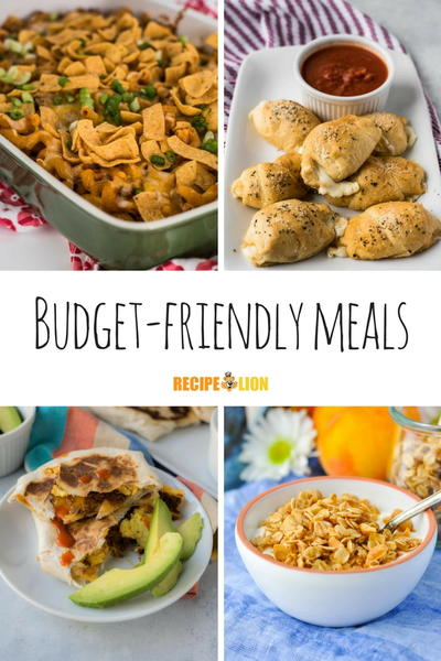 Poor Man Meals and Frugal Recipes