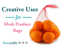 14 Creative Uses for Mesh Produce Bags