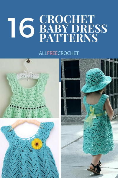 2fa9664c6e9c7 16 Adorable Crochet Baby Dress Patterns (Free!)