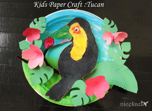 Kids Paper Craft Tucan: Fun craft for kids