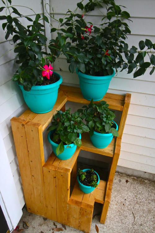 3-Tiered Plant Stand