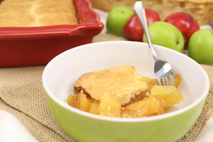 Bisquick Apple Cobbler