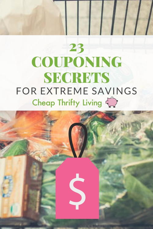 23 Couponing Secrets for Extreme Savings