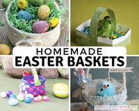 32 Crafty Ways to Make an Easter Basket
