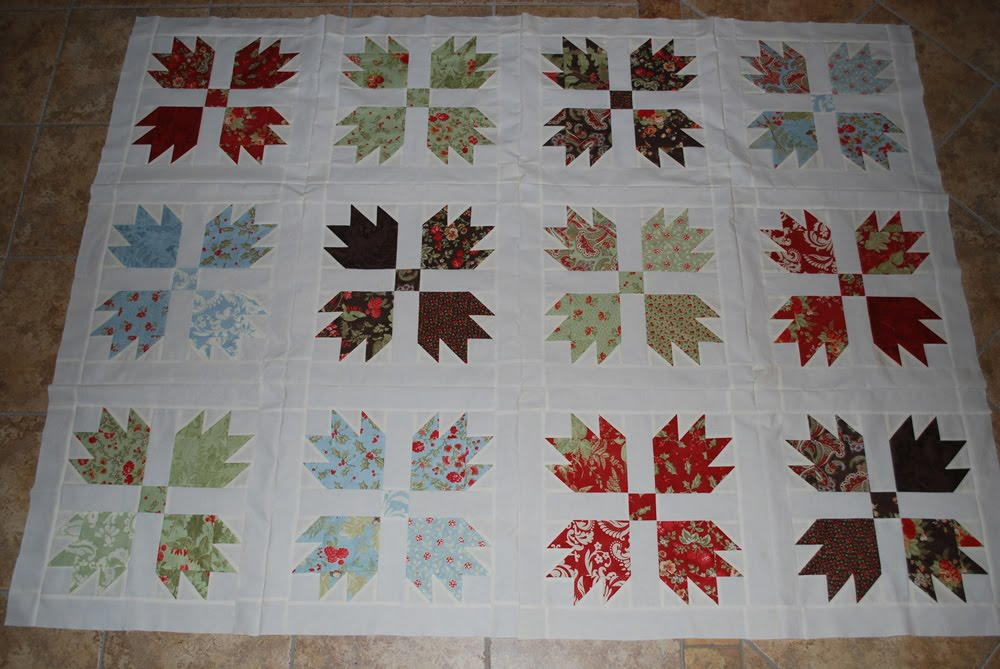 Vintage Inspired Bear Claw Quilt Favequilts Com