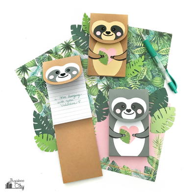 DIY Sloth Notepad