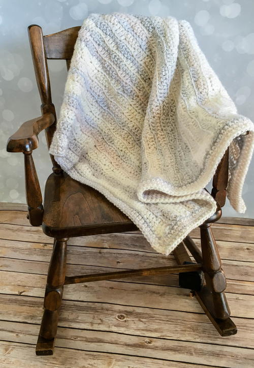 Dreamy Waves Baby Blanket