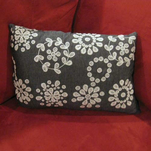 Quick and Easy Upcycled Throw Pillow