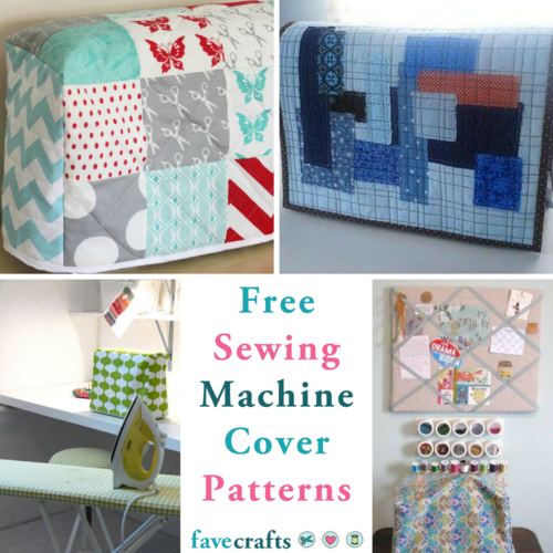 Free Sewing Patterns for Machine Covers