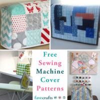 15 Free Sewing Patterns for Machine Covers
