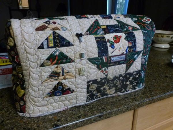 How to Quilt a Sewing Machine Cover