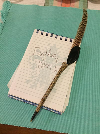 Awesome DIY Feather Ballpoint Pen