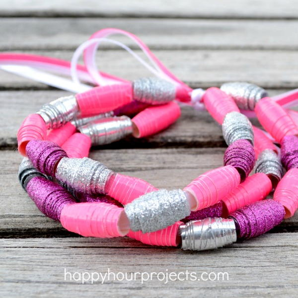 DIY Duct Tape Bead Bracelet