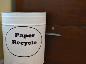 Diy Customized Recycling Bin Cheapthriftyliving Com
