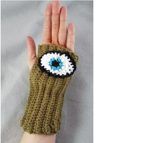Easy Evil Eye Glove