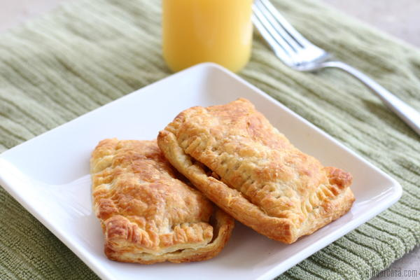 Air Fryer Breakfast Pockets