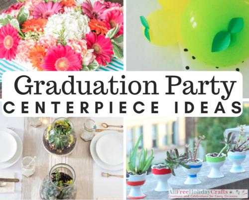 9 Creative Ideas For Graduation Centerpieces Allfreeholidaycrafts Com