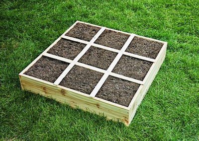 DIY Square Foot Garden Box