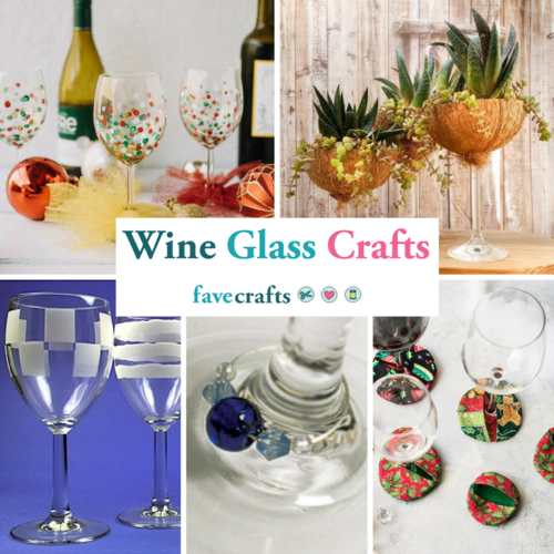 Wine Glass Crafts 20 Wine Glass Decorating Ideas Charms and More