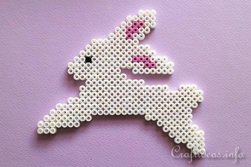Adorable Melting Beads Easter Bunny