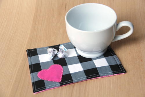 Buffalo Check Mug Mat