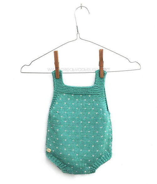 Tos Knitted Romper