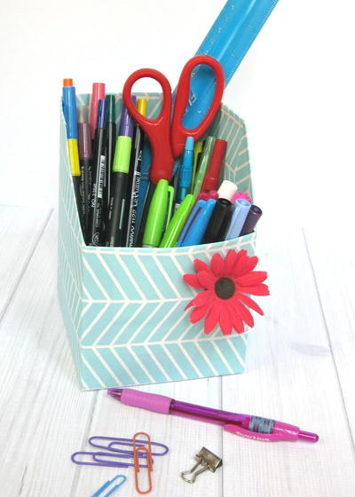Thrifty and Easy DIY Desk Organizers