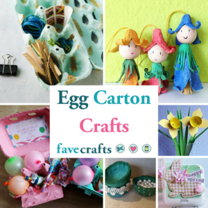 Art Projects Made From Egg Cartons