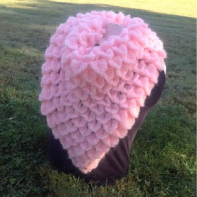 Pretty Pink Mermaid Shawl