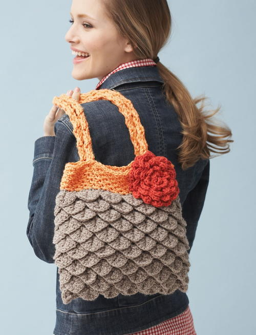 Mermaids Favorite Crochet Tote