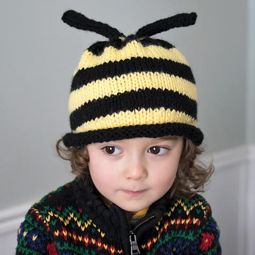 Bumble Bee Hat Knitting Pattern Allfreeknitting Com