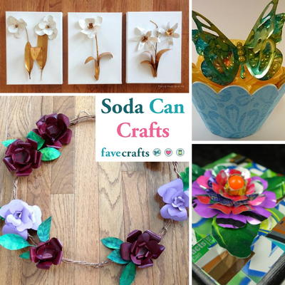 Easy Art Projects With Pop Cans For Beginners