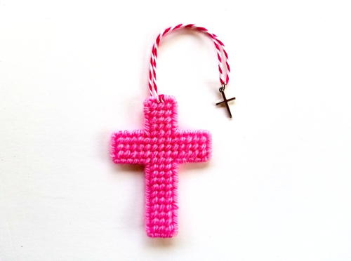 Cross Stitch Easter Canvas Cross Bookmarks
