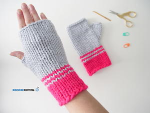 Basic Knit Hand Warmer