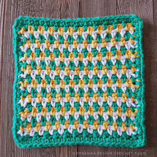 How to Seed Stitch Crochet