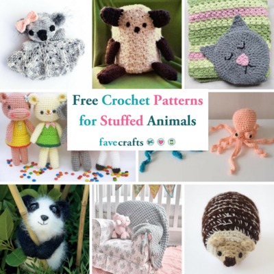 46 Free Crochet Patterns for Stuffed Animals and Loveys