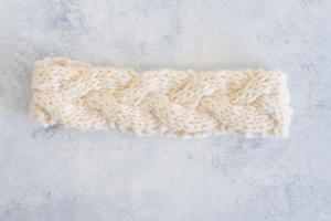 Easy Cable Knit Headband