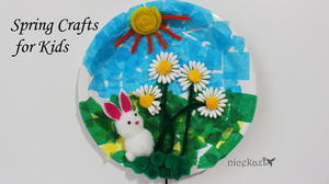 Spring Crafts for Kids: Cute Bunny