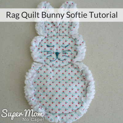 Rag Quilt Bunny Softie Tutorial