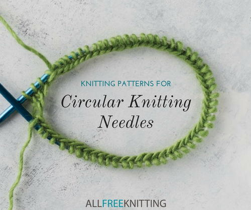 13 Circular Knitting Patterns For Practice Allfreeknitting Com